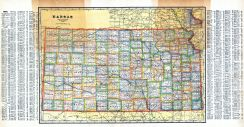 Kansas State Map, Coffey County 1919