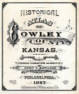 Title Page, Cowley County 1882