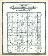 Hayes Township, Dickinson County 1921