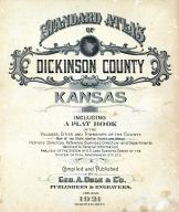Title Page, Dickinson County 1921