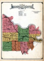 County Outline Map, Doniphan County 1927