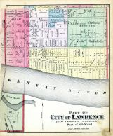 Lawrence City - Ward 6 - Part, Douglas County 1873
