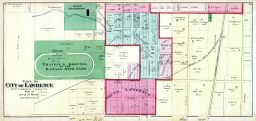 Lawrence City - Wards 2, 3 - Part 002, Douglas County 1873