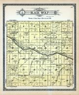 Black Wolf Township, Smoky Hill River, Turkey Creek, Little Wolf Creek, Buffalo, Ellsworth County 1918