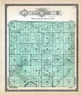 Clear Cree Township, Smoky Hill River, Elm Creek, Ellsworth County 1918