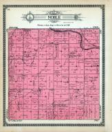 Noble Township, Smoky Hill River, Meadow Brook, Wolf Creek, Village View, Woodland, Ellsworth County 1918