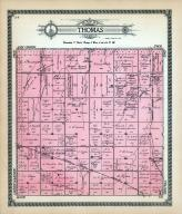 Thomas Township, Frantz Station, Ratham, Turkey Track, Hysell, Wheat Belt, Ellsworth County 1918