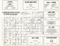 Greenwood Township, Franklin County 1958