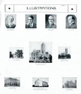 McArthur, Reinemund, Dever, Manley, Geary County Court House, Library, First Capitol, Pawnee, Geary County 1909