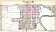 Junction City - South, Smoky Hill River, Geary County 1909