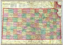 Kansas State Map, Geary County 1909
