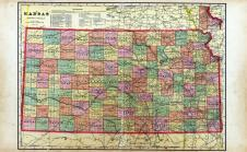 Kansas State Map, Hodgeman County 1907