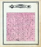 Township 23 S Range 25 W, Hallet P.O., Spring Dale, Buckner Creek, Thief Canyon Creek, Hodgeman County 1907