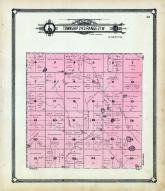 Township 24 S Range 21 W, Little Coon Creek, Burke's Creek, Gleason Creek, Hodgeman County 1907