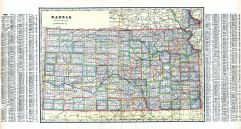 Kansas State Map, Jefferson County 1916