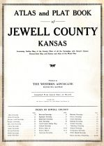Title Page, Jewell County 1921