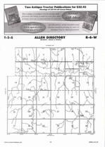 Allen Township Directory Map, Jewell County 2006