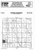 Buffalo Township, Jewell, Directory Map, Jewell County 2006