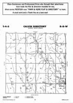 Calvin Township, Jewell, Directory Map, Jewell County 2006