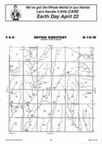 Erving Township Directory Map, Jewell County 2006