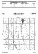 Esbon Township Directory Map, Jewell County 2006