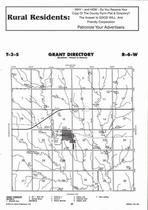 Grant Township, Formoso, Directory Map, Jewell County 2006