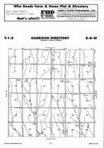Harrison Township Directory Map, Jewell County 2006