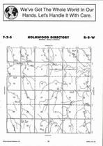 Holmwood Township Directory Map, Jewell County 2006