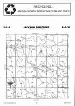 Jackson Township, Webber, Directory Map, Jewell County 2006