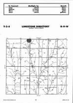 Limestone Township, Otego, Directory Map, Jewell County 2006
