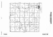 Prairie Township, Randall, Directory Map, Jewell County 2006