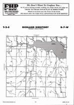 Richland Township Directory Map, Jewell County 2006