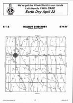 Walnut Township, North Branch, Directory Map, Jewell County 2006