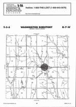 Washington Township, Montrose, Directory Map, Jewell County 2006