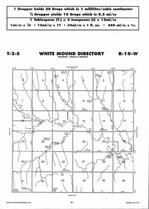 White Mound Township Directory Map, Jewell County 2006