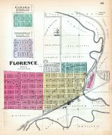 Canada, Lincolnville, Florence, Kansas State Atlas 1887