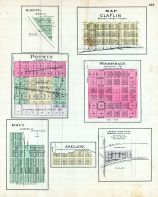 Mayetta, Claflin, Potwin, Woodsdale, Hoyt, Adelaide, Colaw, Roberts Subdivision, Kansas State Atlas 1887