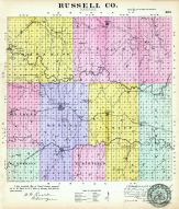 Russell County, Kansas State Atlas 1887