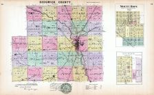 Sedgwick County, Mount Hope, Derby, Kansas State Atlas 1887