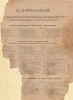 Table of Contents 6, Kansas State Atlas 1887