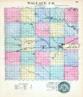 Wallace County, Kansas State Atlas 1887