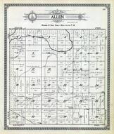 Allen Township, Ninnescah River, Coon Creek, Kingman County 1921