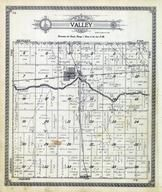 Valley Township, Rago, Du Quoin, chikaskia River, Kingman County 1921