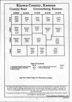 Table of Contents, Kiowa County 1992