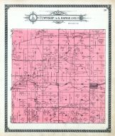 Bushong, Comiskey P.O., Bluff Creek, Missouri Pacific R.R., Santa Fe Trail, Lyon County 1918