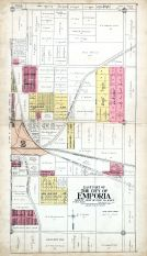 Emporia City - East, Lyon County 1918