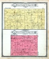 Township 15 S. Range 12 E. - Part, Township 15 S. Range 13 E. - Part, Shadyside, Old Santa Fe Trail, Lyon County 1918