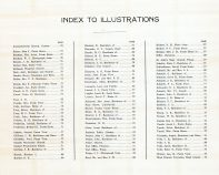 Index to Illustrations, Marion County 1921