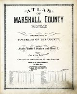 Title Page, Marshall County 1922