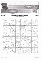 Balderson Township Directory Map, Marshall County 2006